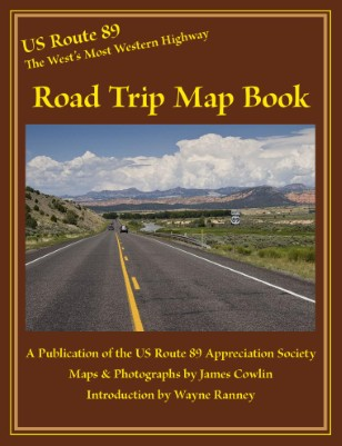 Road Trip Map Book
