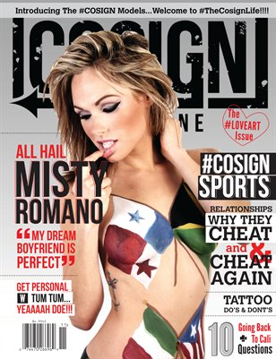COSIGN Magazine Issue #4: #LoveArt Edition