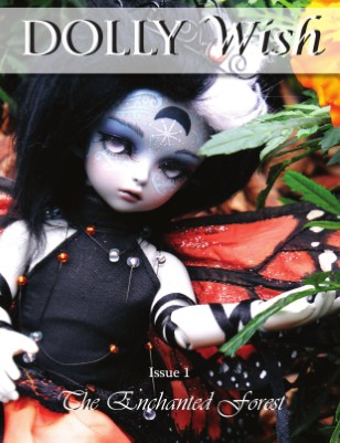 DollyWish is a doll magazine for collectors, artists, and photographers.
