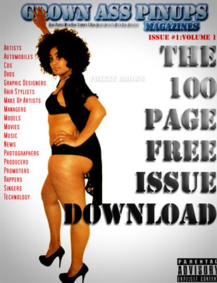 Grown Ass Pinups Magazine(The Free Download Issue)