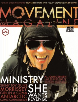 10.2007 Ministry, She Wants Revenge, Shiny Toy Guns