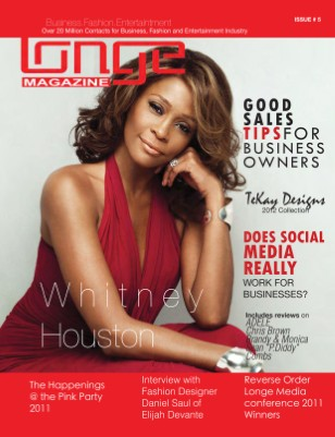 Longe Magazine - Whitney Houston