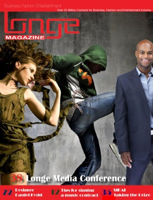 Longe Magazine Musician and Fashion Designer Profiles
