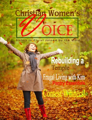 Christian Women's Voice Sep/Oct 2012