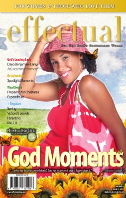 Effectual Magazine - November 2011 - God Moments