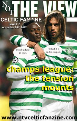 Not The View Celtic Fanzine Issue 213