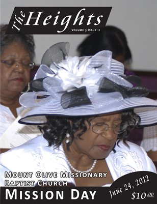 Volume 3 Issue 11 - Mount Olive Missionary Baptist Church Mission Day