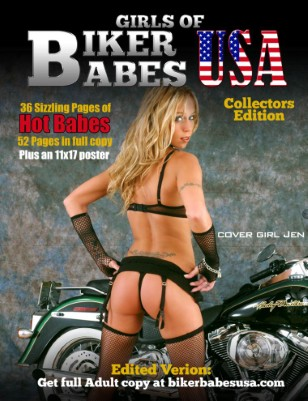 This is the edited version of the collectors edition Girls of Biker Babes ...