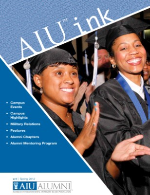 AIU Alumni Spring Newsletter Print Copies Available From HP Mag Cloud Print On Demand