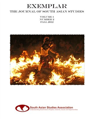 Exemplar: The Journal Of South Asian Studies - v1n2