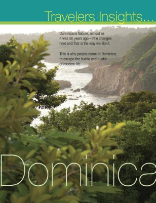 Dominica Story  with tourism operators contacts