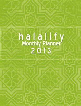Halalify Yearly Planner with Hijri Dates