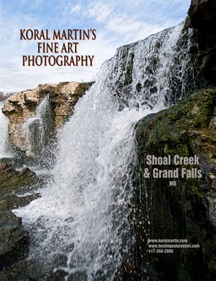 Shoal Creek and Grand Falls (in Missouri) - Koral Martin Fine Art Photography