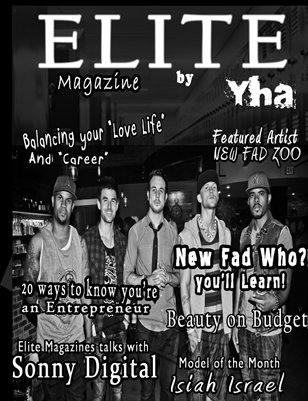 Elite Magazine by Y.H.A (September Issue 2012)