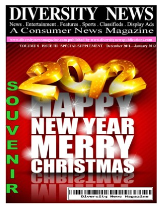 Diversity News Magazine Special Christmas and New Year 2012