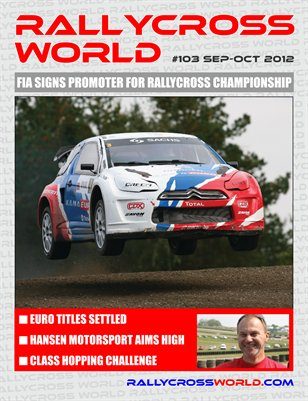Rallycross World #103, September-October 2012