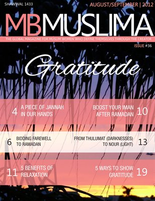 The Gratitude Issue