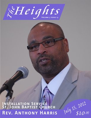 Volume 3 Issue 13 - Installation Service Rev. Anthony Harris