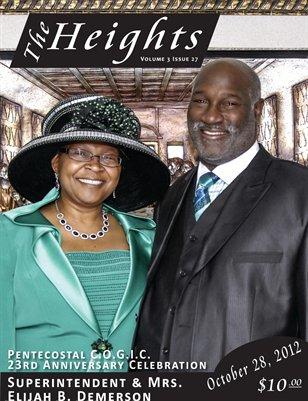 Volume 3 Issue 27 - 23rd Anniversary Celebration Sup. Elijah B. Demerson