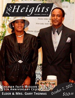 Volume 3 Issue 25 - 25th Anniversary Elder Gary Thomas