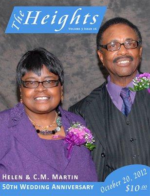 Volume 3 Issue 26 - Helen & CM Martin 50th Wedding Anniversary