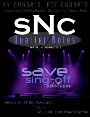 SNCQN 1.3 -- Save The Sing-Off Edition