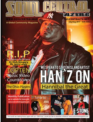 Soul Central Magazine #Celeb #Artist #Han`Z ON 5oth Edition
