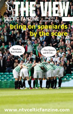 Not The View Celtic Fanzine issue 212