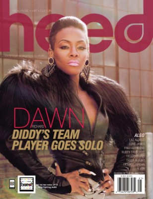 Heed Magazine Spring 2012-Special Dawn Richard Cover