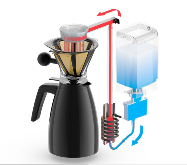 Bodum Coffee Maker Drip : Bodum Bistro 40oz Electric Thermal Carafe Drip Coffee Maker Whole Latte Love - People ...