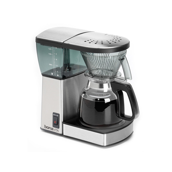 Bonavita Exceptional Brew 8-Cup Coffee Maker With Glass Carafe Lavazza USA Official Store ...