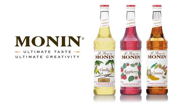 Monin brand slide