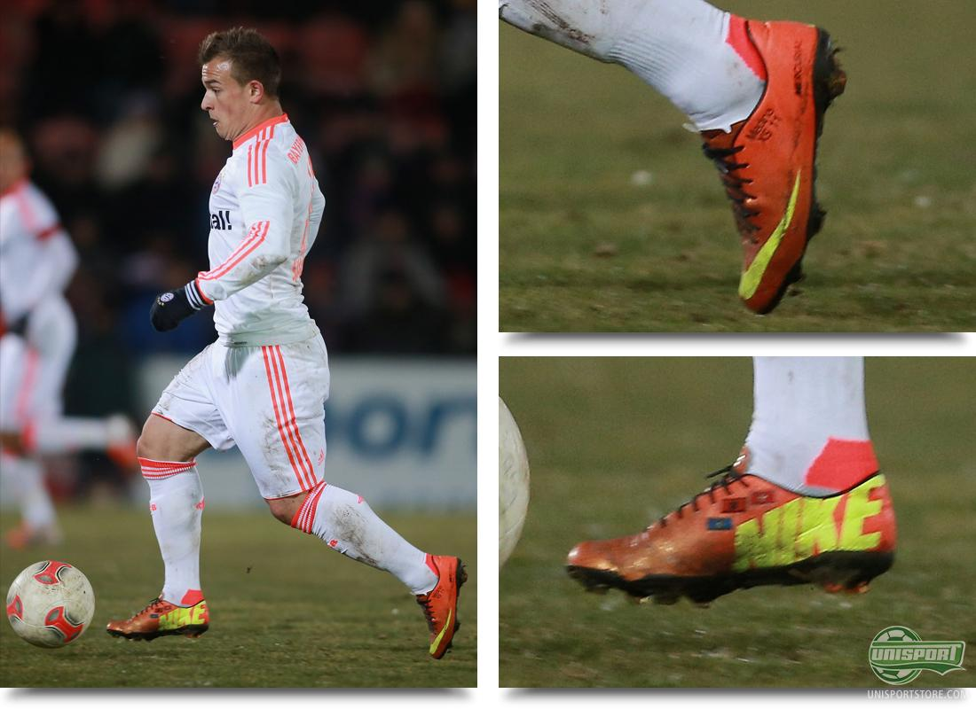 nike mercurial vapor ix cr7 edition (white/orange/yellow) Boot spots from the Weekend games  Early debut for the Vapor IX