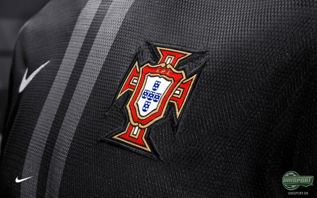 Nike, Portugal, away, udebane, sort, ronaldo, nani