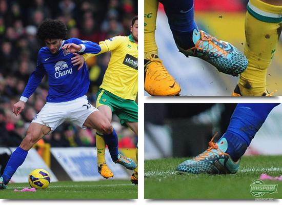 unisport, unisportstore, støvlespot, bootspot, marouane fellaini, fellaini, everton, warrior, warrior sports, skreamer, skreamer pro, warrior sports skreamer pro