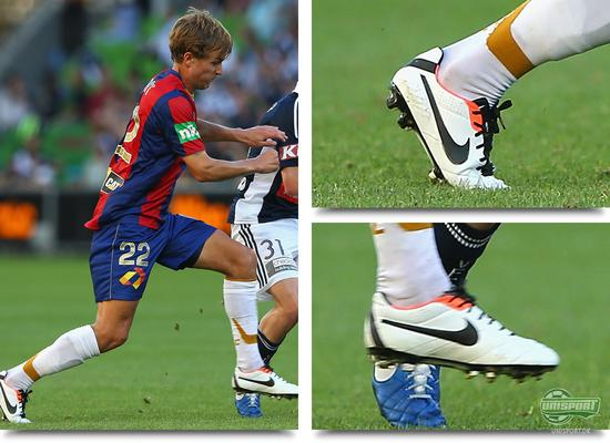 bootspot, boot spot, støvlespot, unisport, unisportstore, nick kalmer, newcastle jets, nike tiempo legend iv