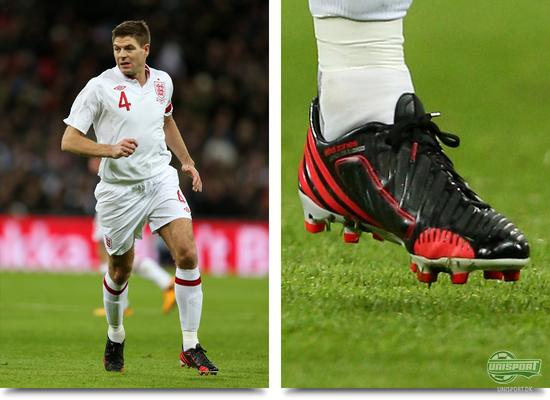 adidas, predator, lz, predator lz, predator lz ii, predator lz prototype, prototype, mystery boot, boot testing, steven gerrard, gerrard, liverpool, england