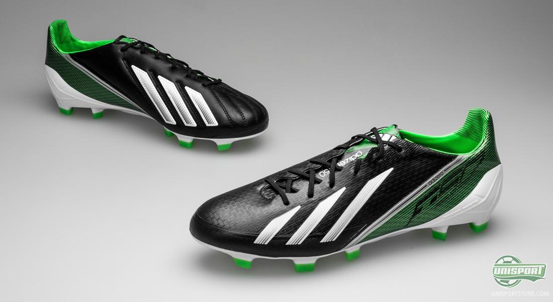 adidas f50 black green