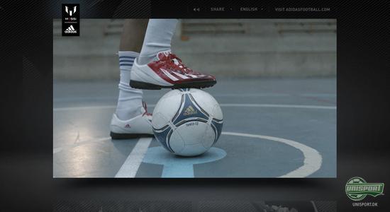 adidas, adidas football, adidas f50 adizero, f50, adizero, messi, lionel messi, team messi, messi app