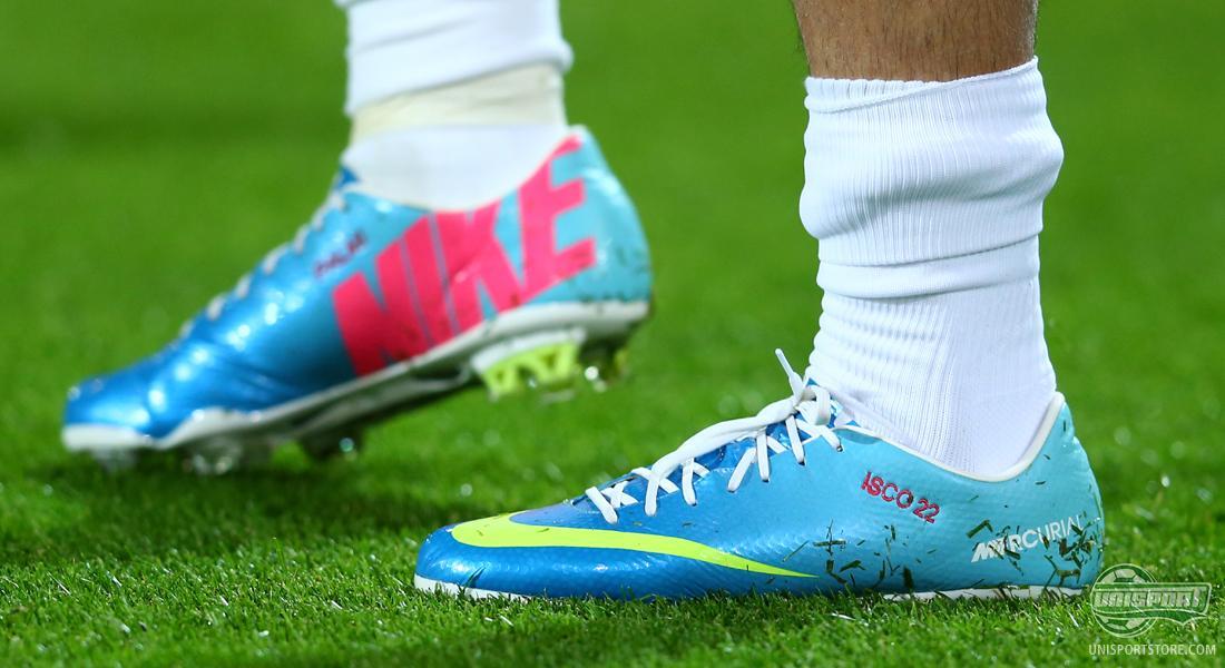 Isco usará botines Nike que fueron presentados en 2013