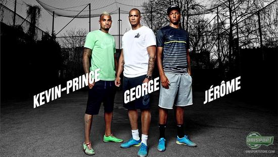 Kevin, George and Jerome Boateng Nike Photoshoot