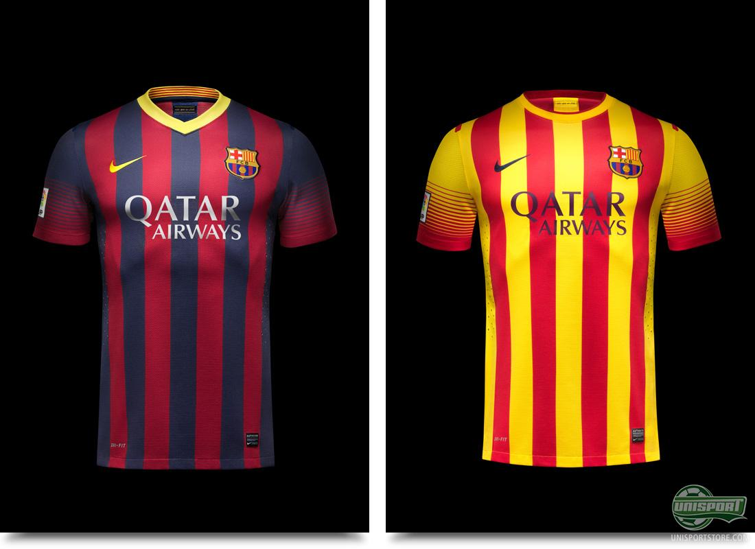 Fc barcelona launch new home and away shirt from nike - New home barcelona ...