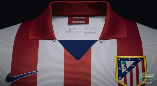 atletico madrid, atletico, madrid, nike, nike football, dri fit, drifit, authentic, unisport, unisportstore
