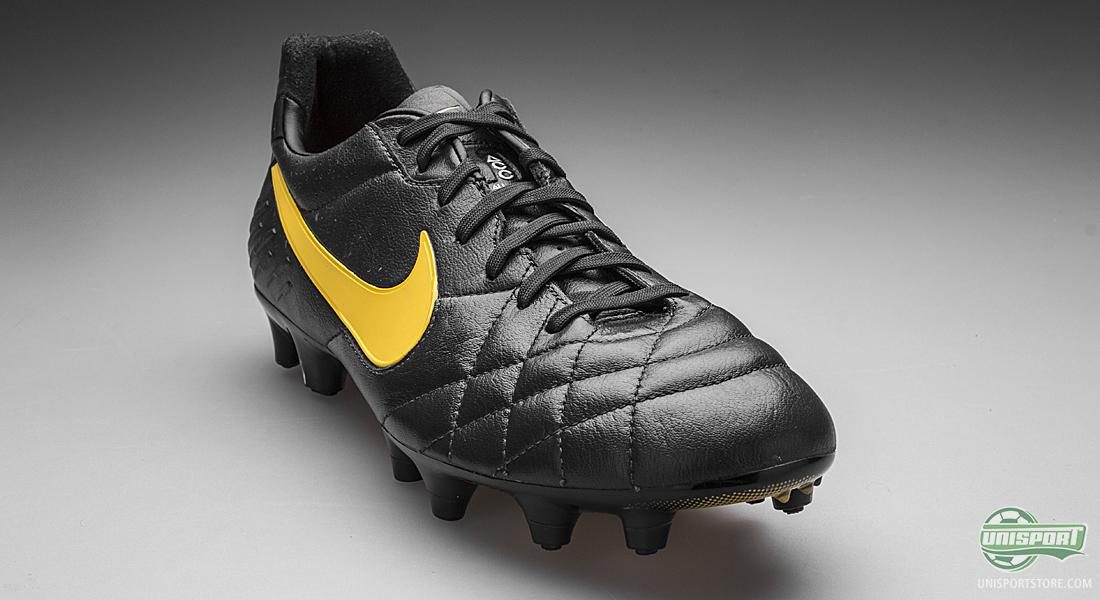 If you turn back time a decade or two and look at the way football boots  were designed, they were all black. The Nike Tiempo Legend IV pays homage  to the ...