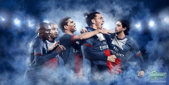 nike, fotballdrakt, fotball, paris saint germain, paris, saint, germain, psg, zlatan, van der wiel, unisport, unisportstore