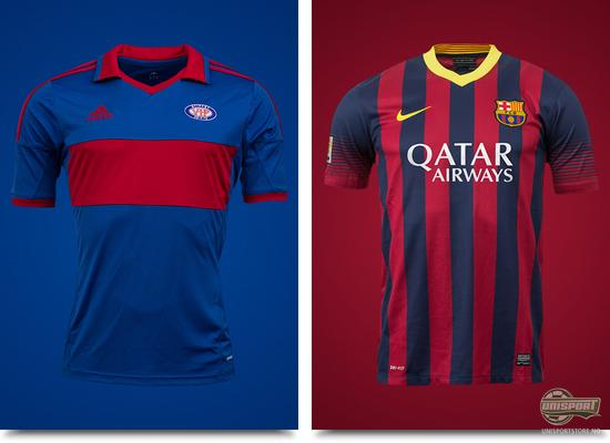 barcelona, vålerenga, FCB, VIF, fotballkamp, ullevål, ullevål stadion, vennskapskamp, messi, unisport, unisportstore