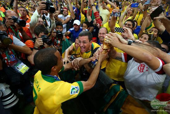 brasil, fotball, lidenskap, passion, confederations cup, seier, neymar