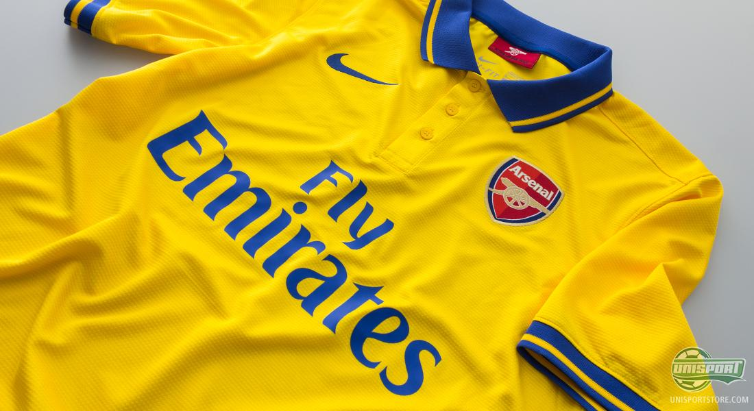 24ee3fff81b Arsenal celebrate tradition with a classic yellow away shirt