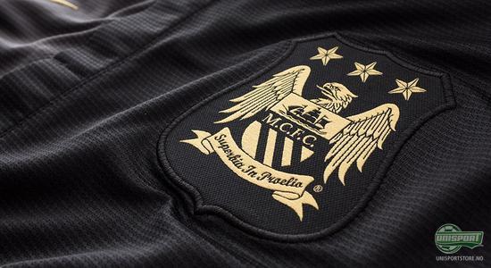 nike, fotball, bortedrakt, manchester city, manchester, city, away, fotballdrakt, sort, sort fotballdrakt, unisport, unisportstore