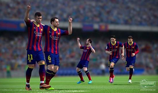 fifa, fifa 14, liverpool, barcelona, dataspill, play station, fotballspill, fotball, gerrard, agger, unisport, unisportstore